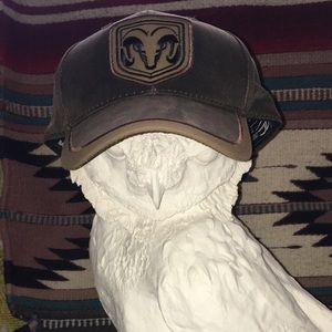 Dodge Ram official distressed baseball cap OS